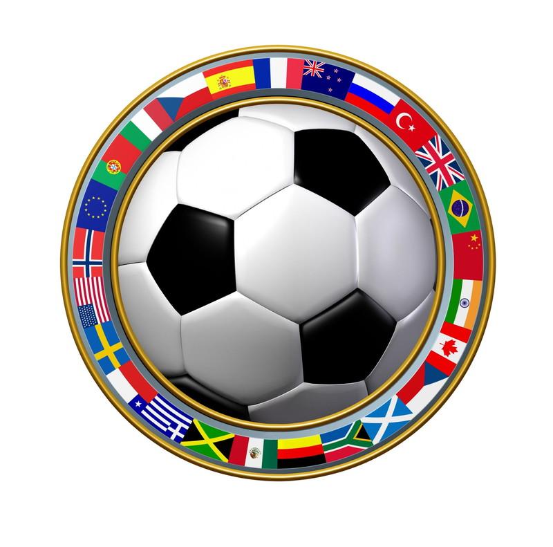 万国旗サッカーボール